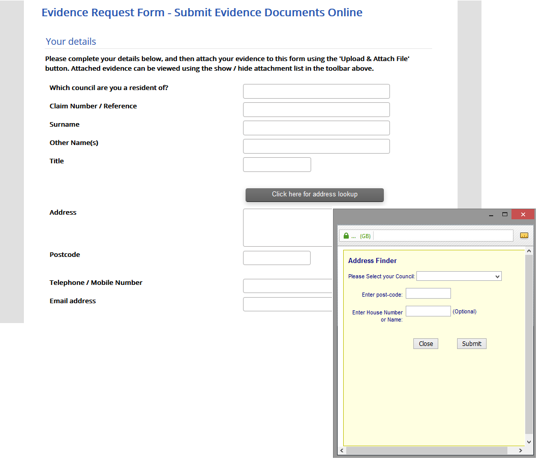 Add on features victoria forms by form basis as can the additional option to allow customers to manually type in an address or not giving you full control over how the lookup works falaconquin