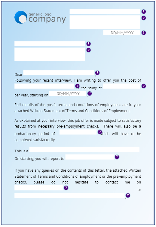 Human Resources Victoria Forms